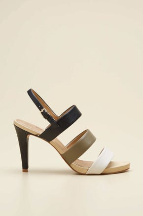 MULTI STRAPS HIGH HEEL SHOES