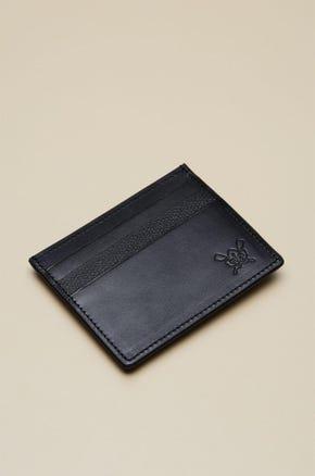 MONEY CLIP LEATHER CARD HOLDER