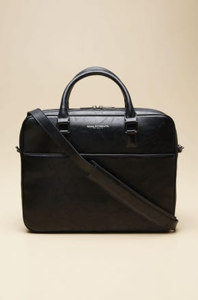 LEATHER NOTEBOOK BRIEFCASE