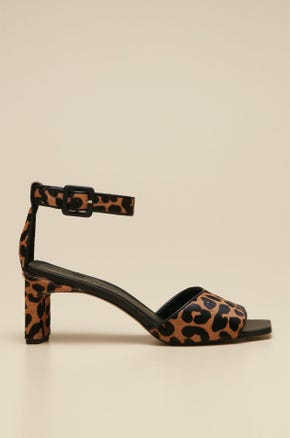 TIGER HEELED SHOES