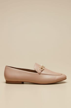 LOAFER WITH GOLD SLING
